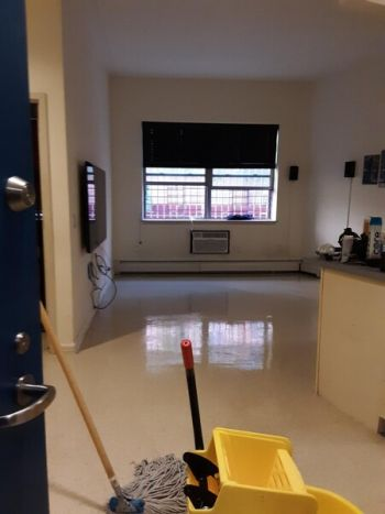 Floor Stripping by Queen City Janitorial